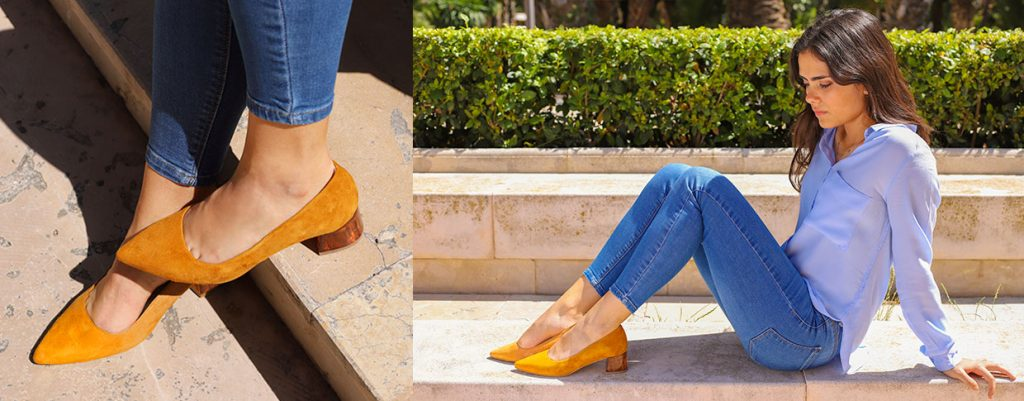Zapatos de señora hechos en España. Lucía Barceló tienda de zapatos online